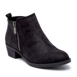 Brie Zip Ankle Boot